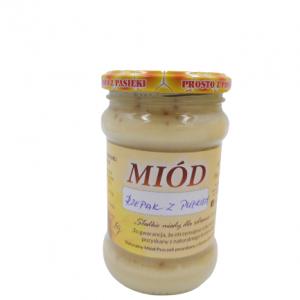 Miód Rzepakowy z pyłkiem 0,5kg