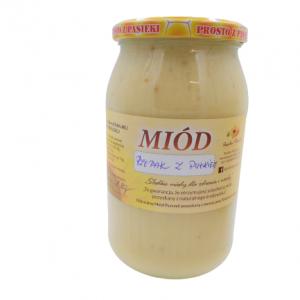 Miód Rzepakowy z pyłkiem 1,3kg