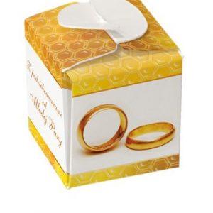 Pudełko 1x50g mini weselne