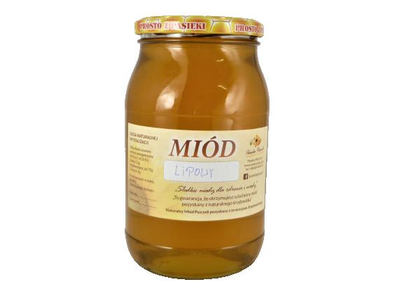 Miód Lipowo-spadziowy 1,3 kg