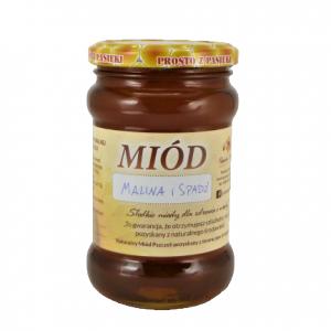 Miód Malina z Spadzią 0,5kg