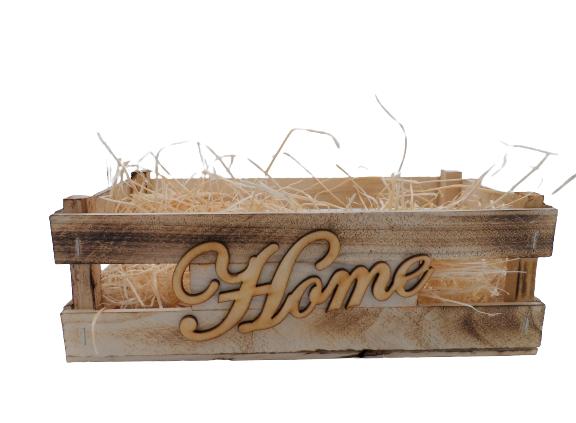 """Skrzynka Prezentowa-  """"Home"""""""